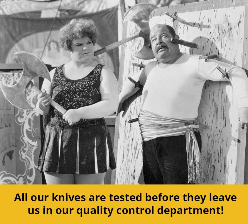 knife testing